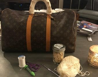 Custom Handbag Handle Covers