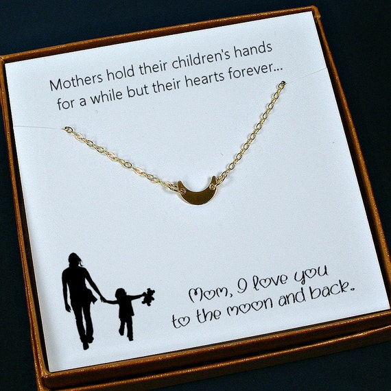 Gold Mom Necklace Mom Gifts Mom Birthday Gift Meaningful