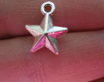 Set of 10 Star Charms