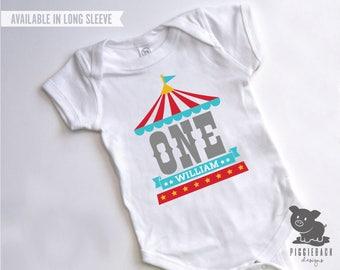 Circus Shirt, Circus Birthday One Piece, Circus First Birthday, Carnival Birthday Shirt, Carnival Shirt, Circus Onesie