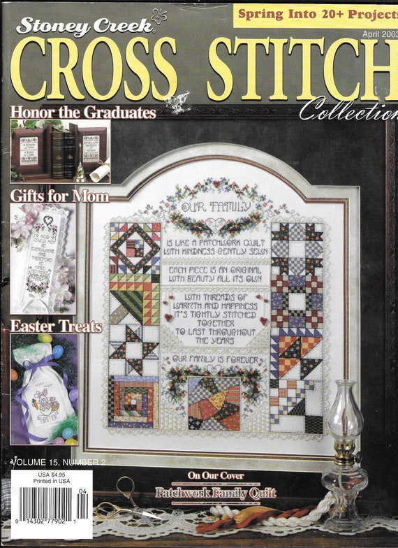 Stoney creek cross stitch collection embroidery magazine spring stoney creek cross stitch collection embroidery magazine spring projects easter gifts for mom easter cross irish sampler christmas from thefoundbox negle Image collections