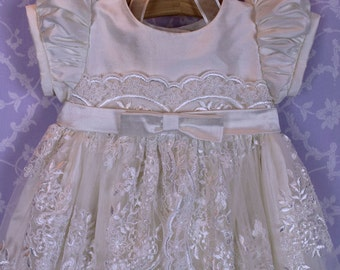 Christening Gown, Michelle with Bonnet