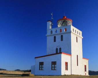 Iceland Photography Nordic Lighthouse Decor - Architecture Art - Landscape Photography - Travel Photography - 5x7 8x10 8x12 Fine Art print
