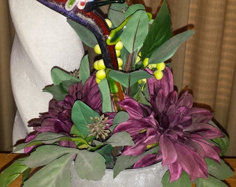 Bird Of Paradise planter embellishment