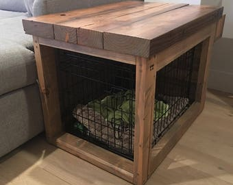 Reclaimed Wood Table / Crate / Cover