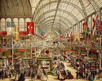 The Crystal Palace & The Great Exhibition of 1851. 22 Rare/Collectible books in PDF format on data disc. 100's illustrations, 1000's pages