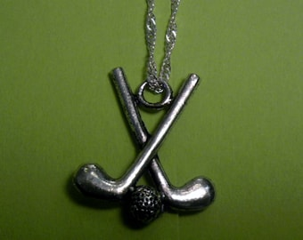 Golf Necklace, Golf Club Charm, Golf Jewelry, Golf Gifts for Women