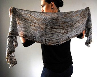 MAIM Shawl Knitting Pattern PDF