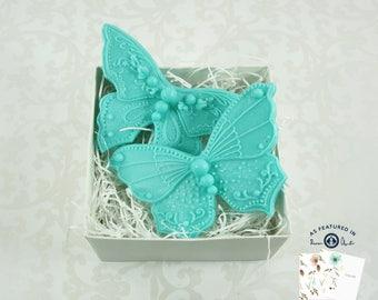 Butterflies Gift Box In Your Choice Of Color Are Great Gifts  For All Occasions / Mothers Day / Bridesmaid Gift /