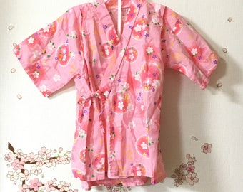 Toddler Kimono Costume, Cute Outfits For Girls, Pink Sakura Design, Baby Kimono, Child Kimono, Baby Gifts, Baby Jinbei, Photo Prop Idea