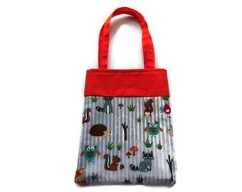 Animal Goodie Bag - Gift Bag - Mini Tote