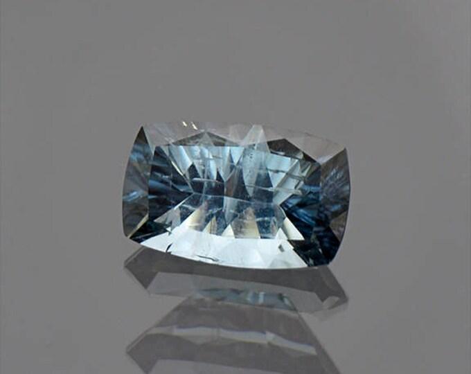 Glittery Silver Blue Tourmaline Gemstone from Brazil 2.94 cts.
