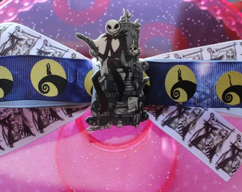 Nightmare Before Christmas Hair Bow