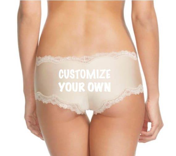 Custom Boudoir Shoot Nude Panties FAST SHIPPING