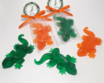 Reptile Party Favors - Reptile Party, Reptile Birthday Party, Lizard Party -  Set of 10