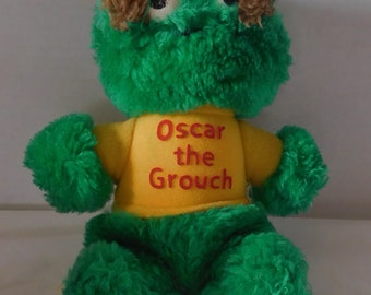 Vintage 1983 Playskool OSCAR the GROUCH plush