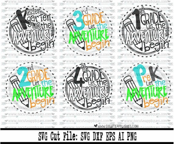 Back To School Svg School Let The Adventure Begin Svg