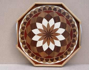 Inlay wood TURNTABLE 45
