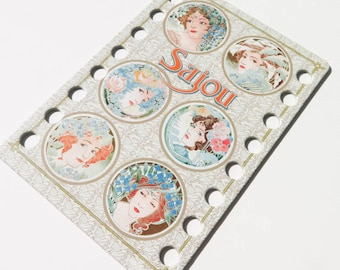 Thread Organizer | Embroidery Floss Organizer from Maison Sajou - Art Nouveau Ladies