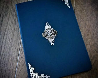 Gothic book, note book, book of shadows, sketch book, gothic gift, altar book ,pagan book, alternative gift, diary, spell book, gothic sale