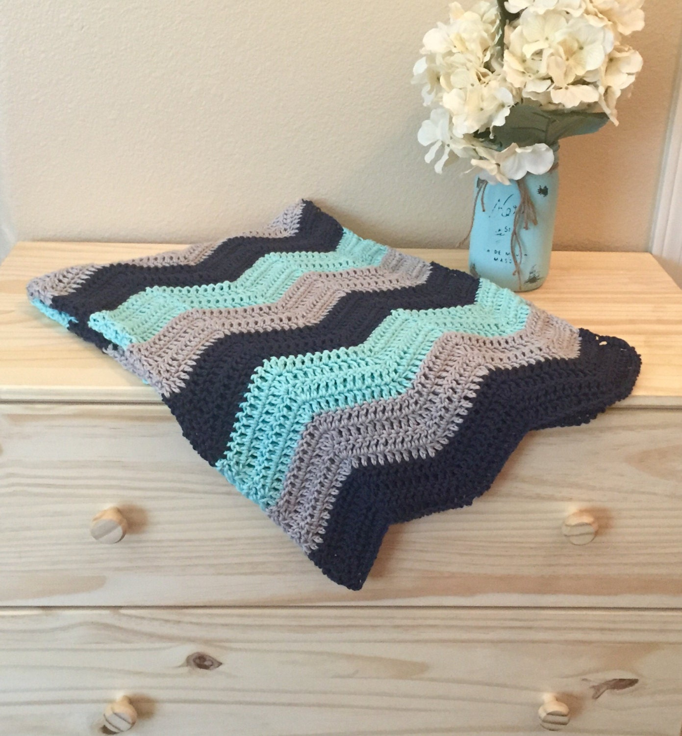 Awesome Ripple Baby Afghanisch Häkelmuster Image Collection - Decke ...