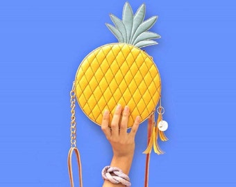 Pineapple crossbody bag