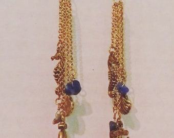 Aquatic Dangle Earrings