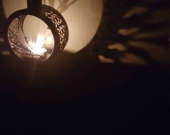 Chris Cornell Shadow  Round Lantern