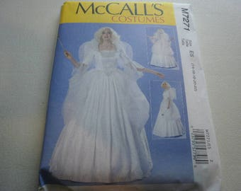 Pattern Costumes Skirt Top Accessories Sizes 6 to 14 McCalls 7271