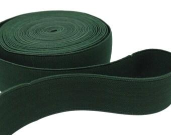 """1 yd Green Belt Elastic - 1 1/2"""" (AC15)"""