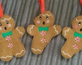 Gingerbread  Bites Christmas Tree Decoration