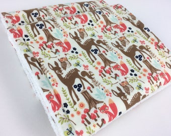Burp cloths, New baby girl gifts, Woodland burp cloths, Modern burp cloths, Pretty baby burp cloths, Baby shower gift, Burping, Spit up rags