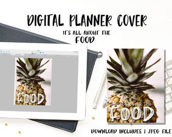 Digital Planner Cover - Food