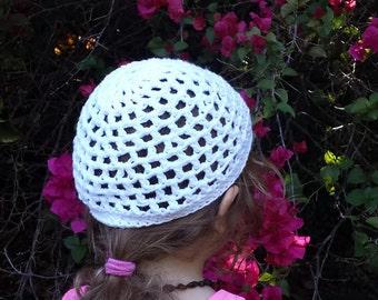Baby-Toddler-Child Cotton Crochet Hat