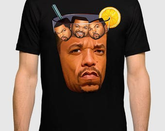 Ice-T with Ice Cube Men's Women's T-shirt