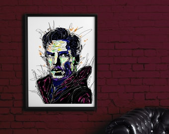 Doctor Strange, Infinity War, Avengers, Printable Art, Printables, Marvel,  Digital
