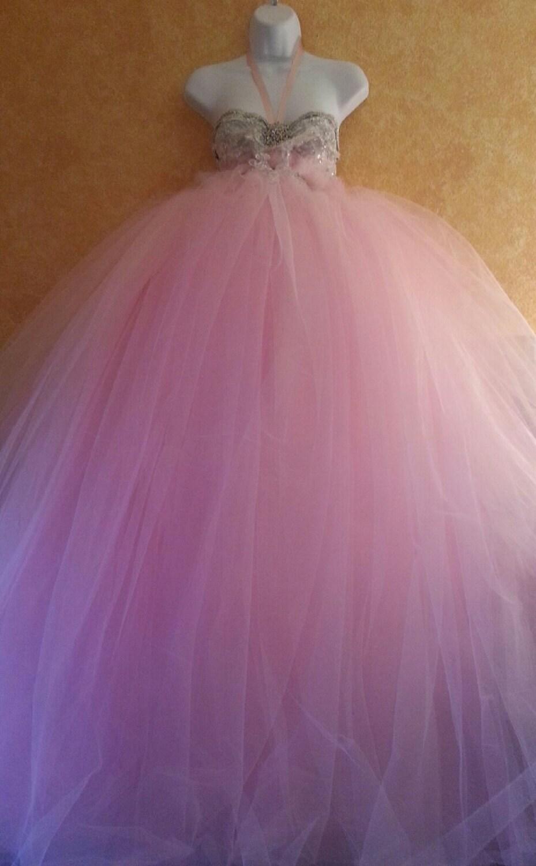 Probe Kleid Angebot Leidenschaft rosa Göttin Boho Babydoll