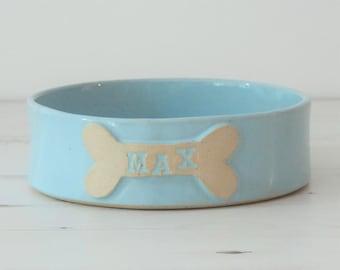Dog bowl, medium, dog bowl, pet bowls, dog water bow, dog food bowl, personalized dog bowl, ceramic dog bowl, ceramic dog bowl, dog gift