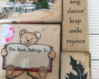 wood block stamp