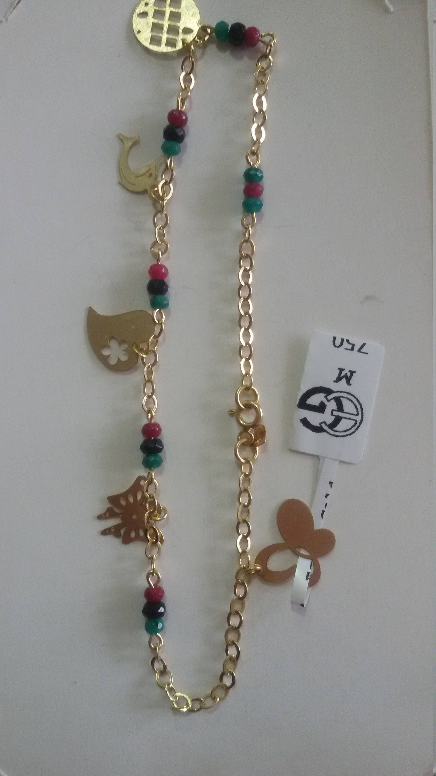 anklet products img online gold zone color real