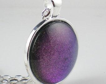 Purple Blue Pink Duo Chrome Nail Polish Necklace Jewelry Indigo Bananas Hermes Nail Polish