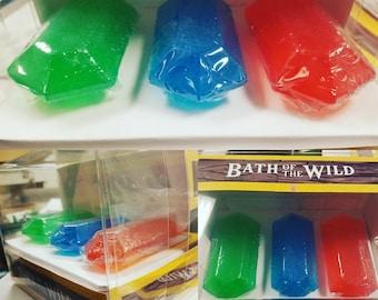 SOAP Rupee Set, Zelda Inspired, Zelda Gift Set, Zelda Gift, gift set zelda, , botw, LoZ, Rupee, Zelda Rupees, Zelda Rupee, rupees, Ocarina