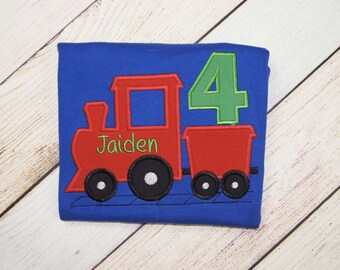 Train Birthday Shirt - First Birthday Outfit - Train Shirt - Birthday Outfit - Baby Bodysuit - Boys Train Smash Cake Outfit - Train Birthday