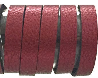 Purple Leather Strip / Purple Leather Strip / Bracelet Leather / Jewelry Leather / Thin Leather Strips / Available in 7mm and 10mm