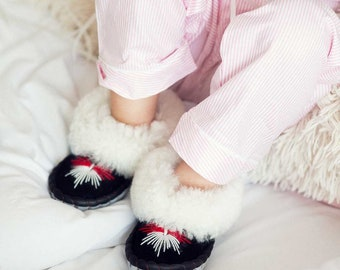 Children's snow Sheepers slippers