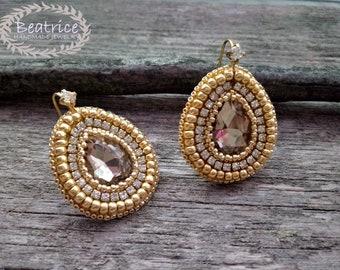 Shiny earrings