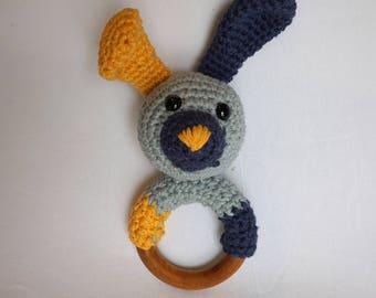 Amigurumi Bunny Teether