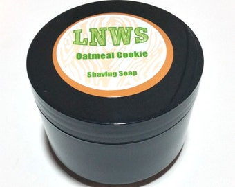 Oatmeal Cookie Scented Shaving Soap - 5.5 oz Jar