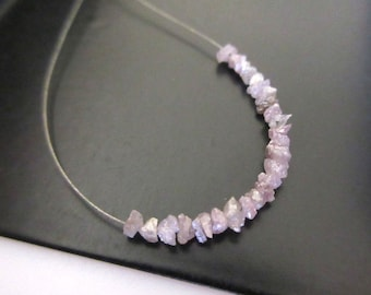1.00CTW Tiny 2mm To 3mm Pink Raw Rough Uncut Diamonds, Natural Pink Uncut Diamond Beads Loose, DDS402/13