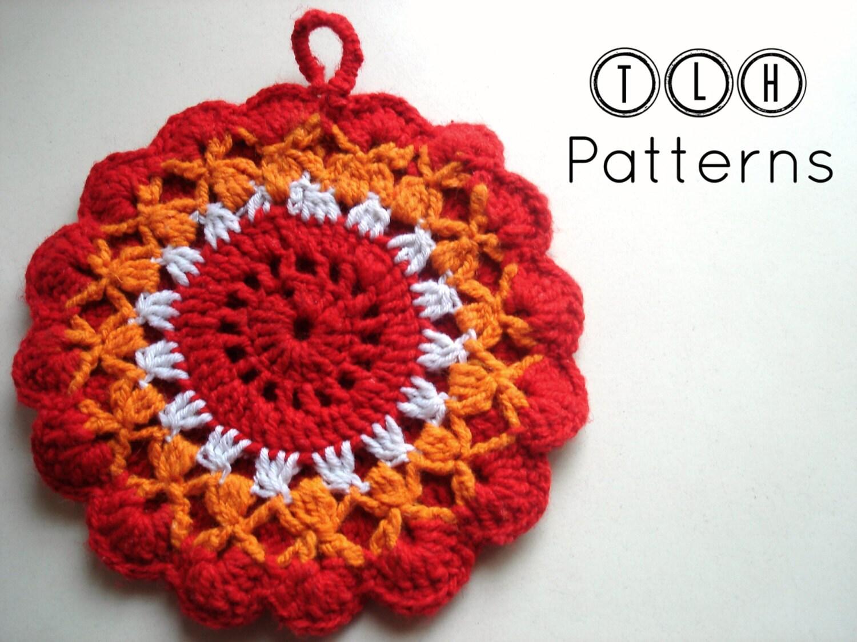 Crochet potholders crochet potholder pattern crochet